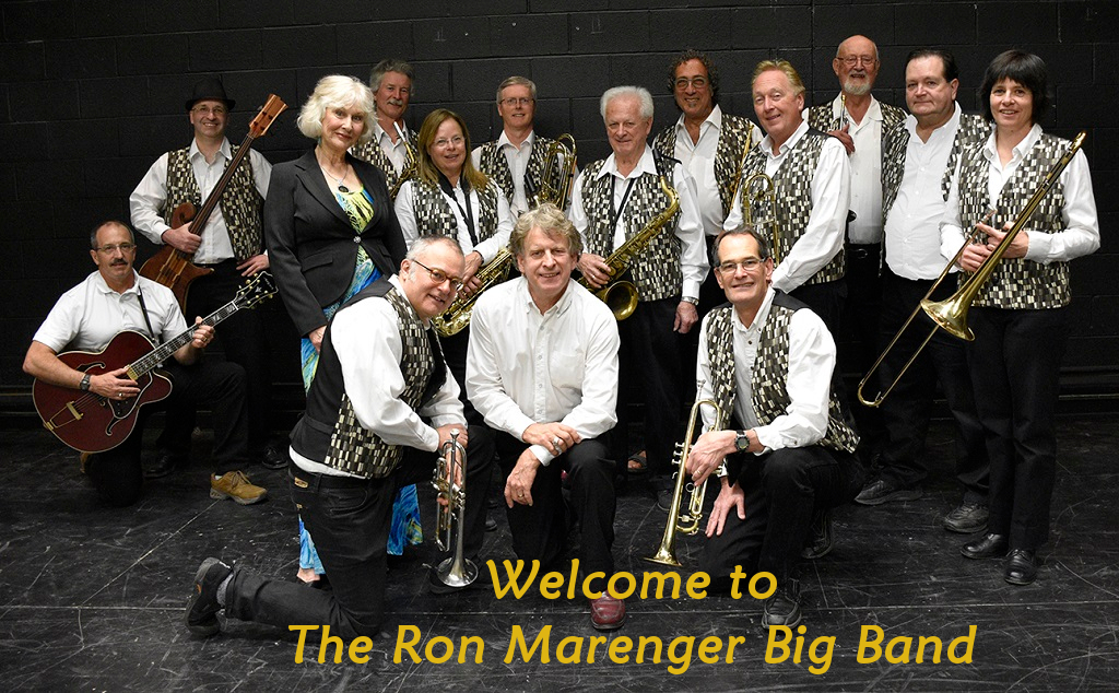 Welcome to the Ron Marenger Big Band